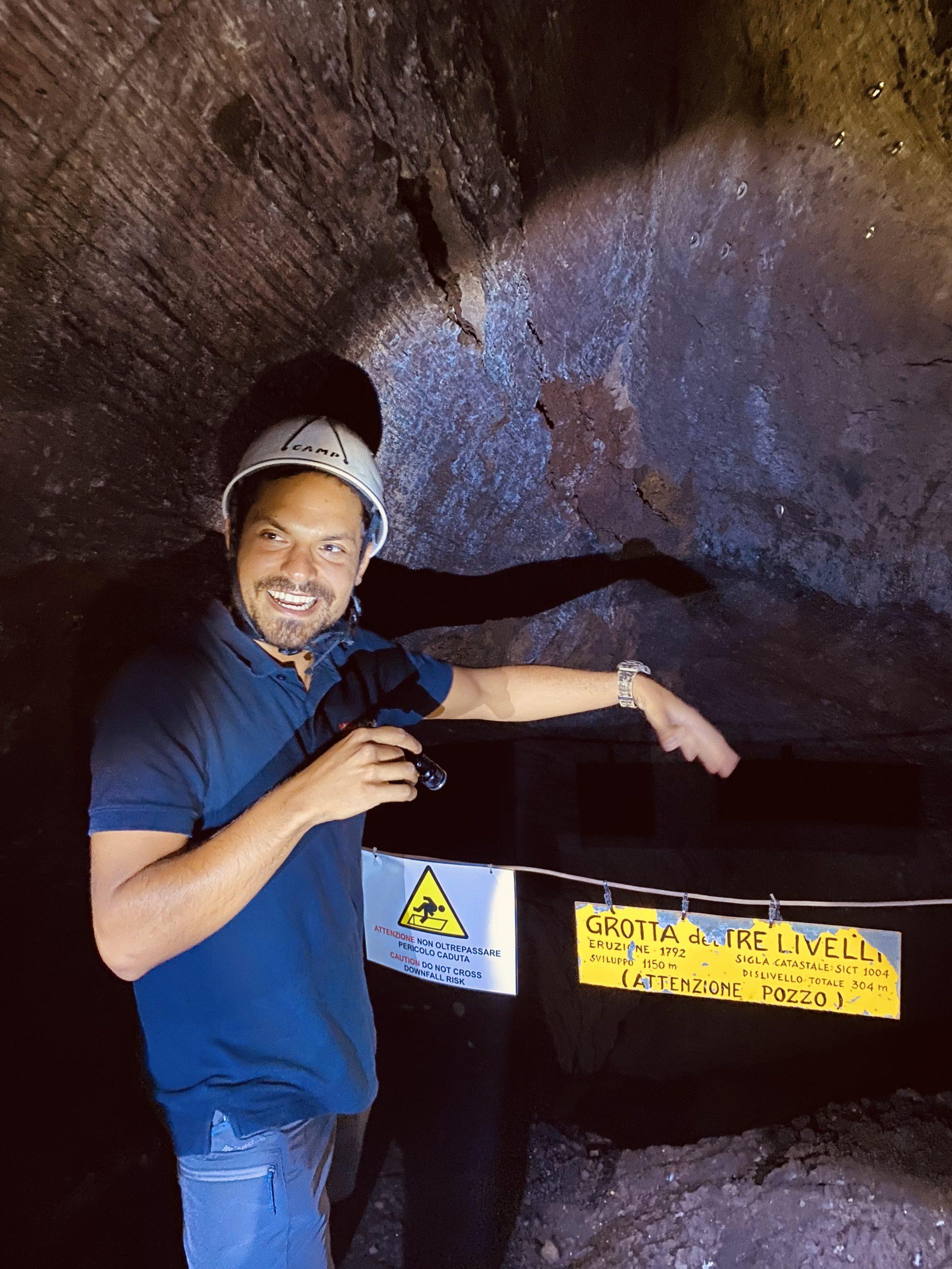 Etna tour guide Danilo