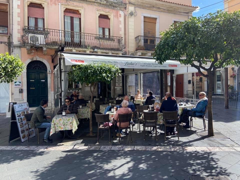 Licchio's bar in Taormina
