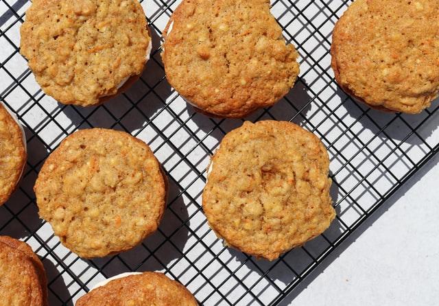 Zoete toetjes - zelfgebakken koekjes