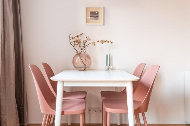 Roze woondecoratie